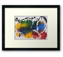 Colorful World Framed Print