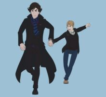 Sherlock and John Kids Tee