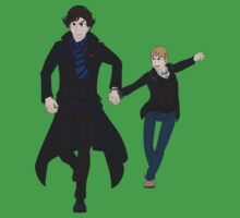 Sherlock and John Kids Clothes