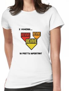 Im pretty important Womens Fitted T-Shirt