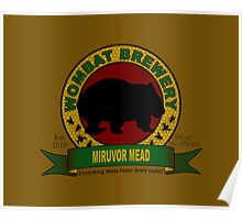 Wombat Brewery: Miruvor Mead Poster
