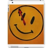 Watchmen Comedian Smiley Face Orange and Yellow iPad Case/Skin