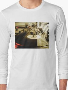 Turntables Long Sleeve T-Shirt