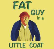 Fat Guy in a Little Coat One Piece - Short Sleeve