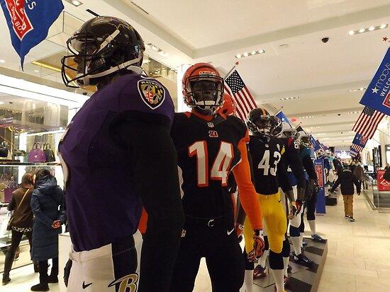 National Football League Uniforms, Super Bowl Week Celebration, Macys, New York City by lenspiro
