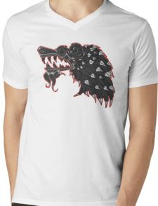 Aztec Snake Mens V-Neck T-Shirt