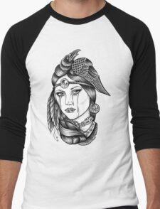 Native American Princess Men's Baseball ¾ T-Shirt