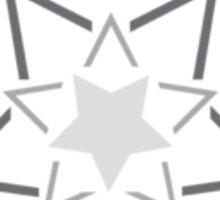 Exploding Star, Gradation over Heart Sticker