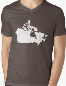 Canada Mens V-Neck T-Shirt