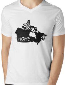Canada Home Mens V-Neck T-Shirt
