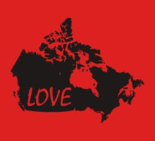 Canada Love Baby Tee