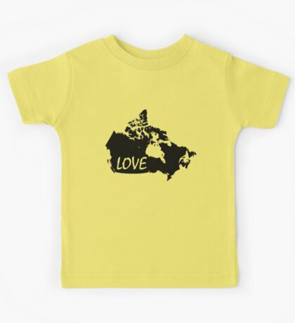 Canada Love Kids Tee