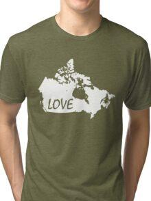 Canada Love Tri-blend T-Shirt
