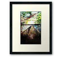 Parks & Piers Framed Print