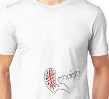 London Union Jack Unisex T-Shirt