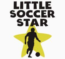 Little Soccer Star One Piece - Long Sleeve