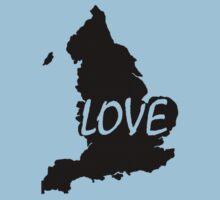 England Love Kids Tee