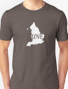 England Love T-Shirt