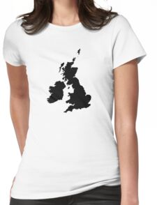United Kingdom Womens Fitted T-Shirt