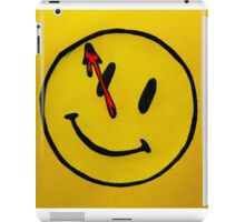 Watchmen Comedian Yellow iPad Case/Skin