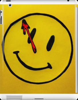 Watchmen Comedian Yellow by Amber Batten
