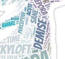 Skyward Sword Zelda Wordle Sticker