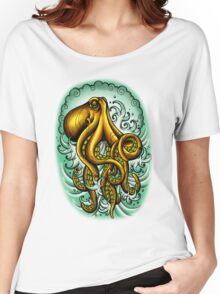Traditional Octopus Women's Relaxed Fit T-Shirt