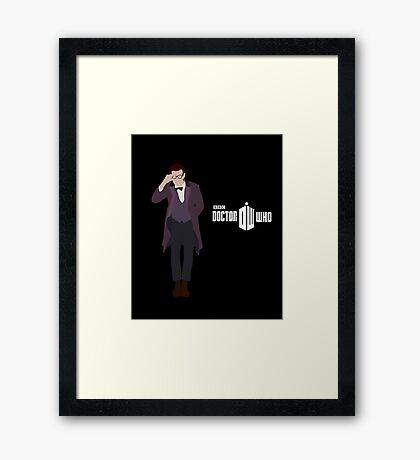The Eleventh Doctor | Matt Smith Framed Print