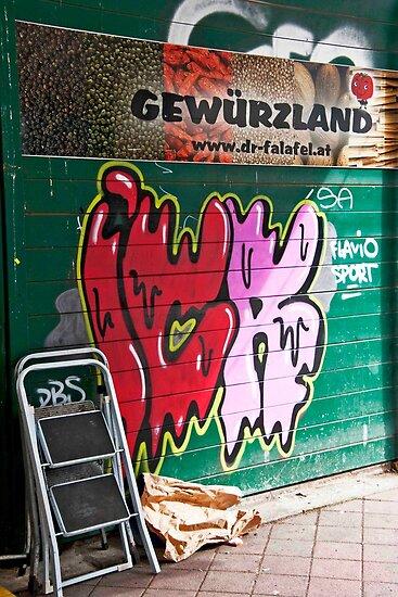 Gewurzland Graffiti by phil decocco