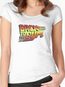 Back To The Gym Women's Fitted Scoop T-Shirt