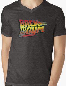 Back To The Gym Mens V-Neck T-Shirt