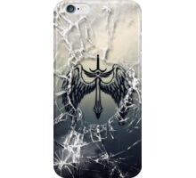 Cracked Winged Sword iPhone Case/Skin