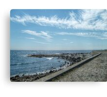 South Most Tip of Aquidneck Island, Ocean Drive Canvas Print
