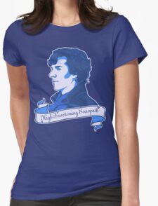 Sherlock Holmes T-shirt Womens Fitted T-Shirt