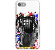 11th doctor &Amy Pond iPhone Case/Skin