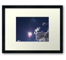©TSS The Sun Series XVI Impress Framed Print