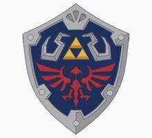 Hylian Shield by tobiejade