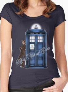 Doctor Who - All of Time and Space T-shirt Women's Fitted Scoop T-Shirt