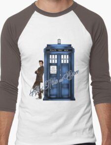 Doctor Who - All of Time and Space T-shirt Men's Baseball ¾ T-Shirt