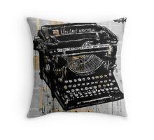 the underwood Throw Pillow