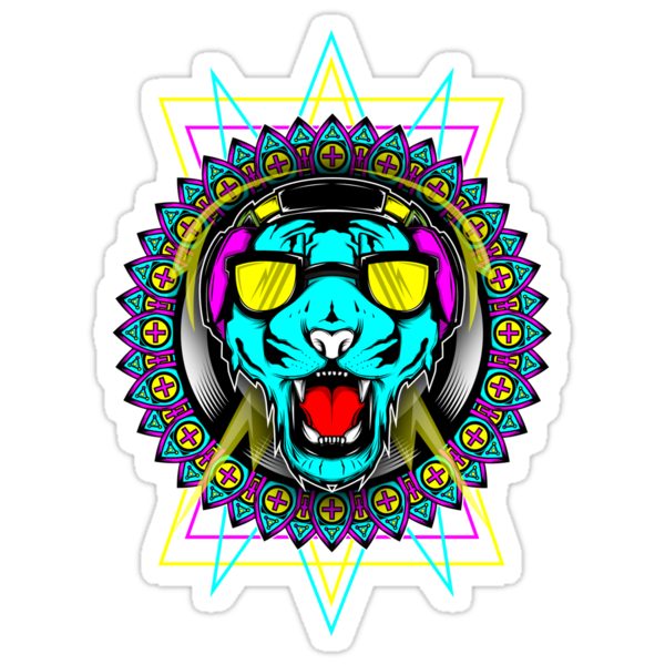 Neon Tiger by swiftyspade