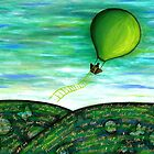 Come Fly With Me (square) by Lisa Frances Judd ~ QuirkyHappyArt