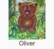 Oliver Bear roaring like a lion Unisex T-Shirt