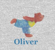 Oliver flying through the air like a seagull Kids Clothes