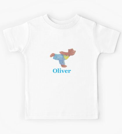 Oliver flying through the air like a seagull Kids Tee