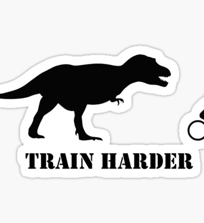 T-Rex Bike Training Sticker