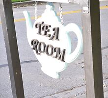 Tea Room by Brian Blaine