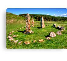 Glengorm Stone Circle Canvas Print