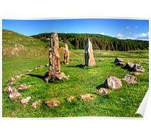 Glengorm Stone Circle Poster