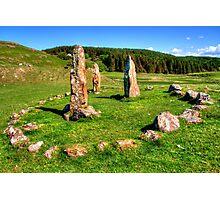 Glengorm Stone Circle Photographic Print